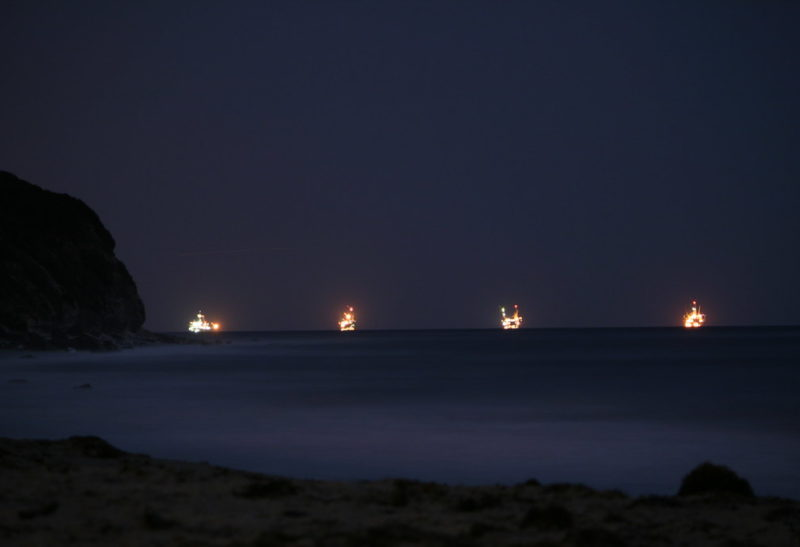 The Oil Rigs