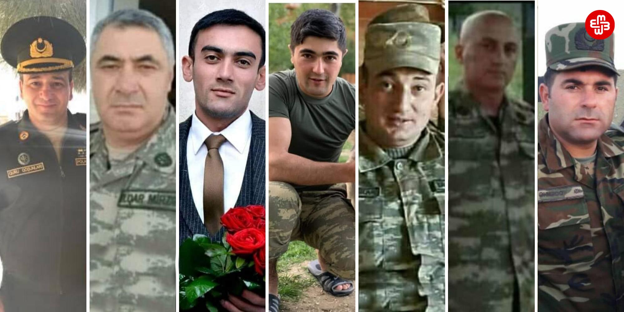 Azərbaycan ordusunun verdiyi itkilər